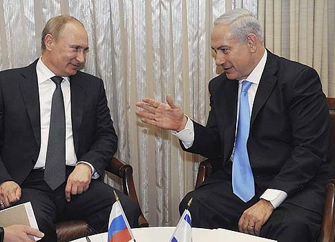 Netanyahu and Putin in Jerusalem, June 25, 2012. Was Iran's fate decided during this get-together?