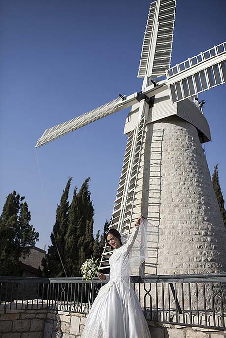 Montefiore's Windmill Gets a Facelift (Armlift?)