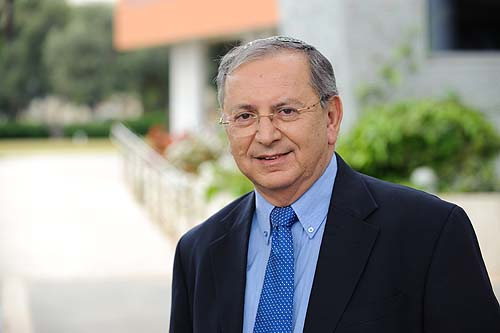 Bar Ilan University president Professor Moshe Kaveh