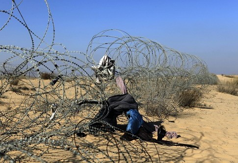 The Egyptian-Israeli border