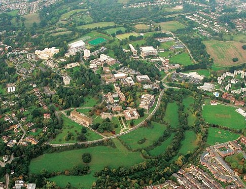 Arial view of the Ariel campus