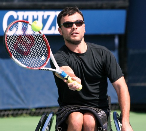 Noam Gershony at the U.S. Open in July 2011.