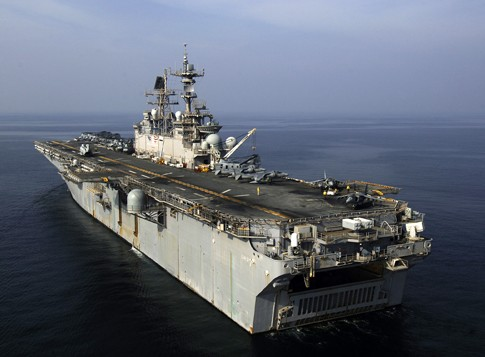 USS Iwo Jima in the Persian Gulf