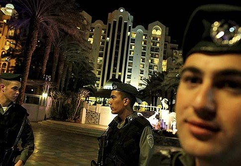 IDF soldiers aren't allowed into some of the Eilat hotels they protect.