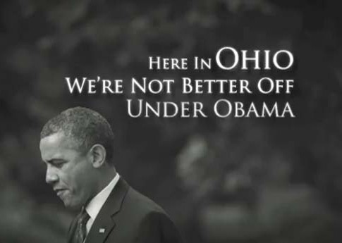 The Romney campaign is saturating swing states such as Ohio with aggressive advertising.