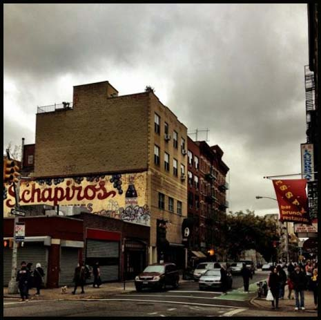 Angry Storm Clouds over the LES – photo by Vivienne Gucwa at http://nythroughthelens.com.