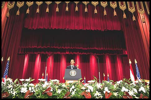 Barack Obama at Cairo University