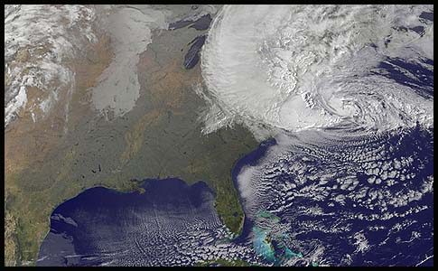 Hurricane Sandy on Oct. 29