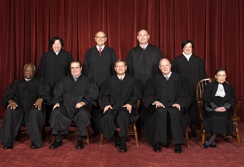 Justices of the U.S. Supreme Court, 2010.