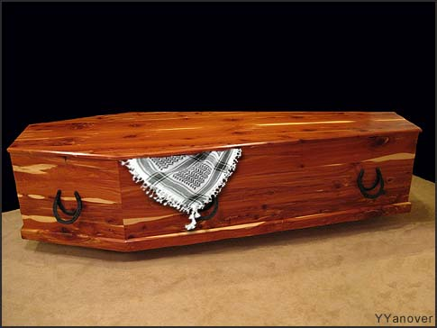 Arafat Coffin