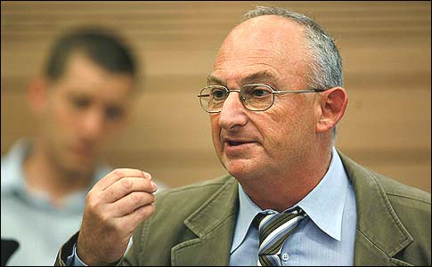 The author, MK Arieh Eldad, of the Power to Israel party.