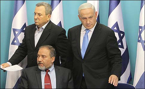 Three Tenors of the Apocalypse. These three men stood on Gaza's border in November, 2012, and blinked first. Now Liberman is urging another attack. Do we trust him?