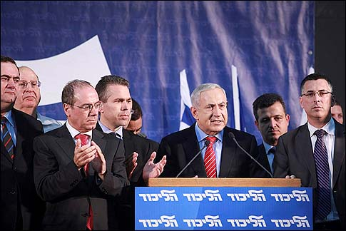 Netanyahu and members of the Top 20 club Monday night.