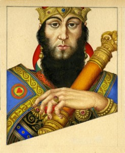 King Solomon, King of Hearts by Arthur Szyk