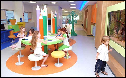 The Dana-Dwek Childrens Hospital, tel Aviv.