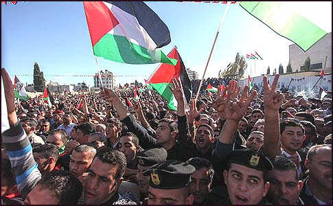 Palestinians in Ramallah last week celebrated not only the UN General Assembly's upgrading of their status, but their next victory, too.