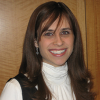 Dr. Ilana Turetsky, an instructor with the online program of the Azrieli school.
