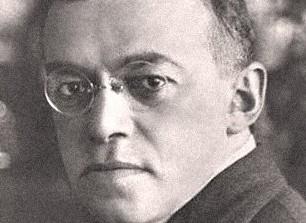 Zionist visionary Ze'ev Jabotinsky.