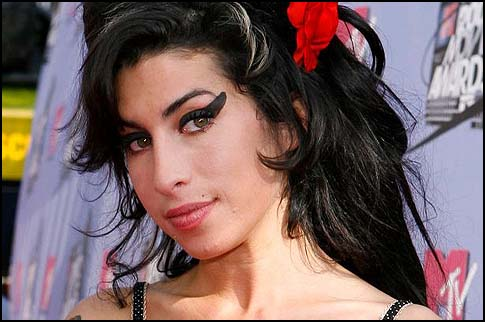 Late singer Amy Winehouse.