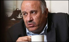 "Jibril Rajoub warned that ""a vote for Netanyahu is a vote for war and racism."""