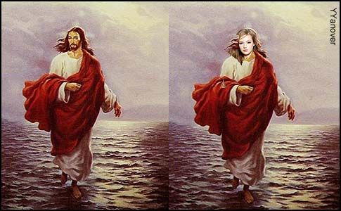 Mr & Mrs JesusWalkingOnWater