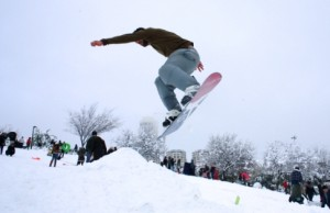 snowboarding in jerusalem