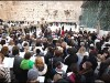 The WOW group praying at the Kotel. Soon, they can pray as they wish, but not at the main Western Wall Plaza