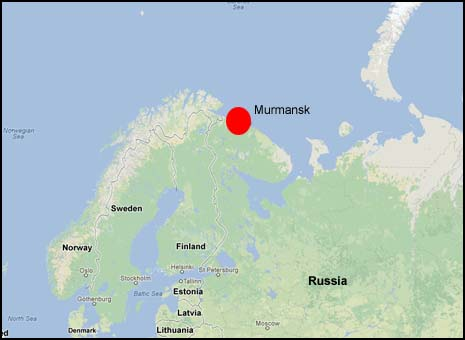 Murmansk Map