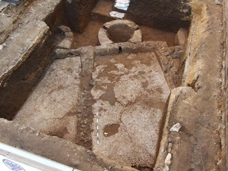 Remains of Byzantine era liquid extraction installation found under Tel Aviv-Yafo