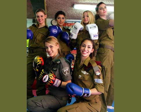 The IDF's rough and tough nominees for Miss Israel 2013