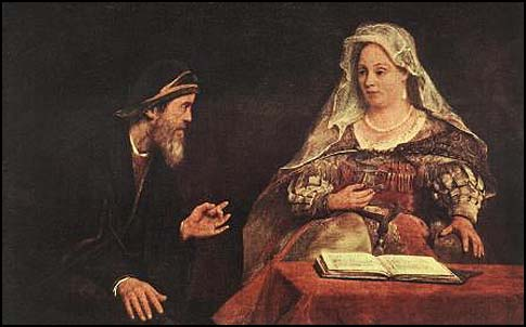 Esther and Mordecai by Aerte de Gelder