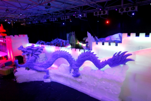 ice dragon in Jerusalem