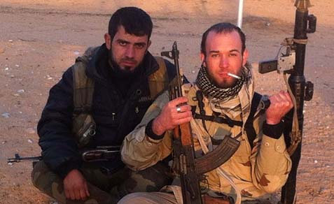 Eric Harroun, US Army vet, fighting with Syrian rebels