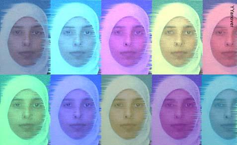 Hamas terrorist Ahlam Tamimi.