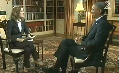 President Barack Obama on the eve of his visit, speaking to Israeli reporter Yonit Levy.