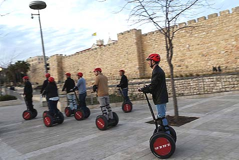 Segways around Jerusalem