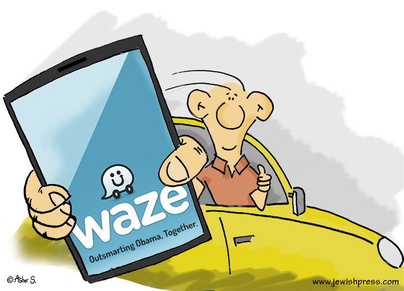 Waze / Obama