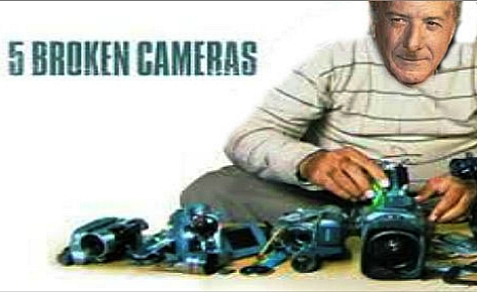 "Dustin Hoffman to present Muslim Public Affairs Council Media Award to anti-Israel film, ""5 Broken Cameras"" April 27, 2013"