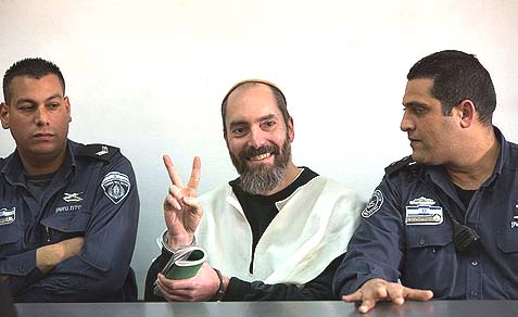 Jack Teitel at the Jerusalem's district court earlier this year.