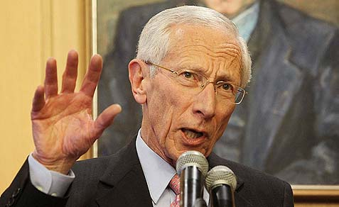 Governor of the Bank of Israel Stanley Fischer.