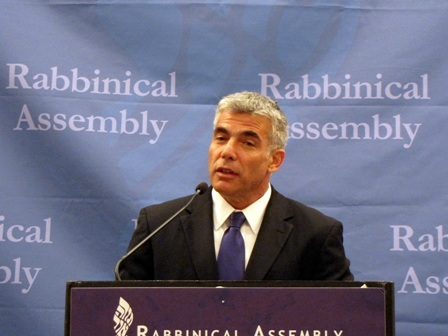 Yair Lapid is the Haredi community's Public Enemy No. 1.
