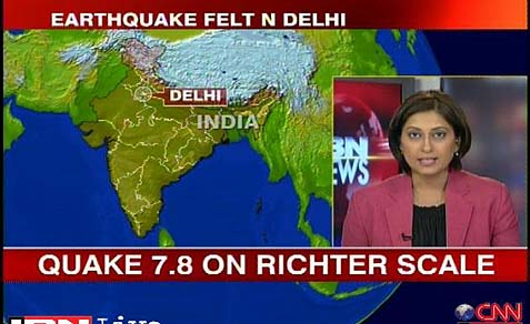 earthquake CNN
