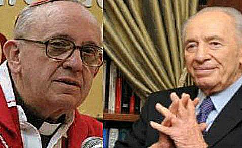 Pope Francis to host President Peres, who will officially invite him to visit Israel.