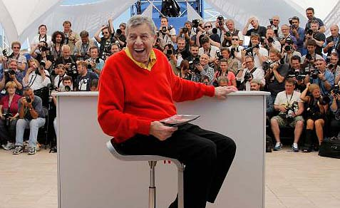 Jerry Lewis at the 66th international film festival, in Cannes, May 23, 2013.