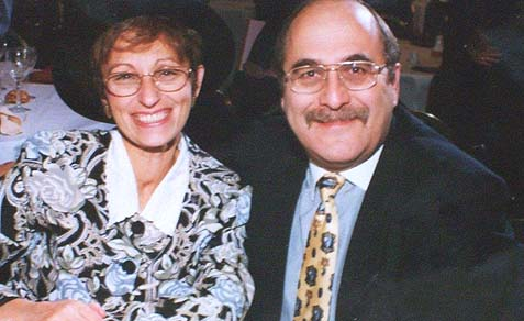 Nachman Klieman and his wife Ruchama lost two of their children to terror attacks.