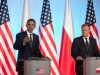 President Obama and Polish Prime Minister Donald Tusk speaking at a news conference in Warsaw, Poland, May 2011. (Official White House Photo by Lawrence Jackson)
