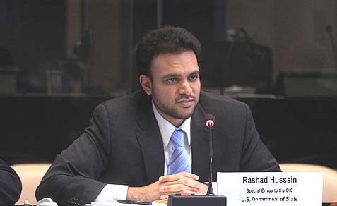 Special Envoy to the Organization of Islamic Cooperation (OIC) Rashad Hussain