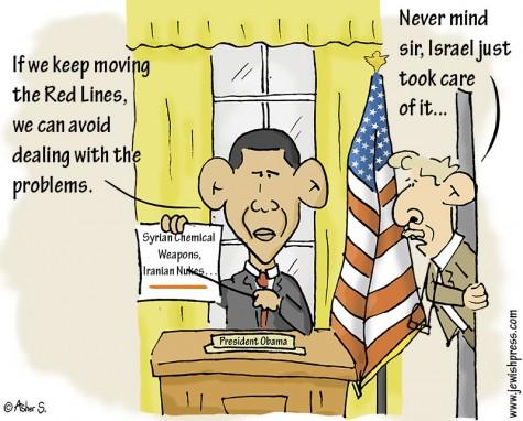Red Line Obama