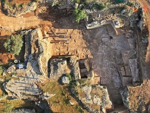 The excavated quarry. Photo: Israel Antiquities Authority.