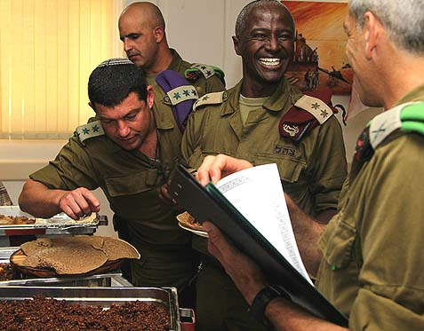 IDF Chefs Face Off
